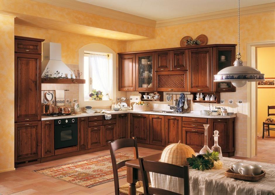 Kuchnia w stylu tradycyjnym - meble Ciaciola