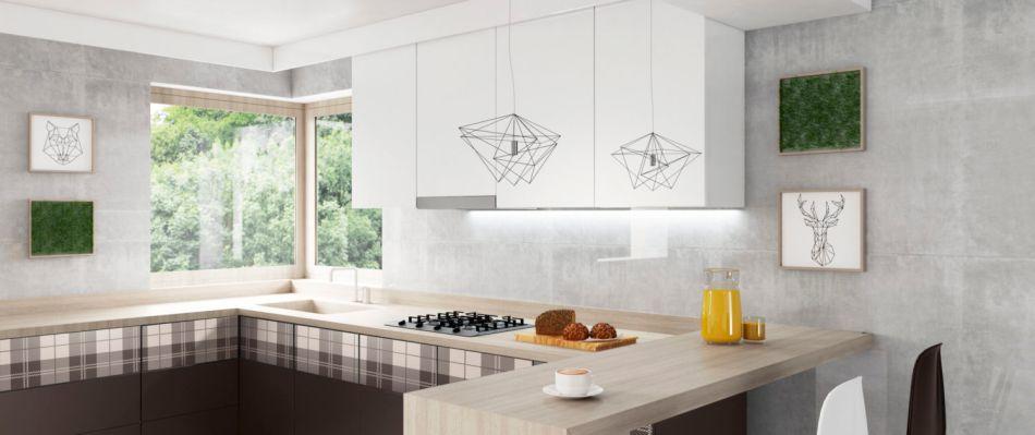Kolekcja MODO - szkło na frontach kuchennych