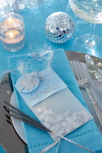 Świąteczny stół - dekoracje