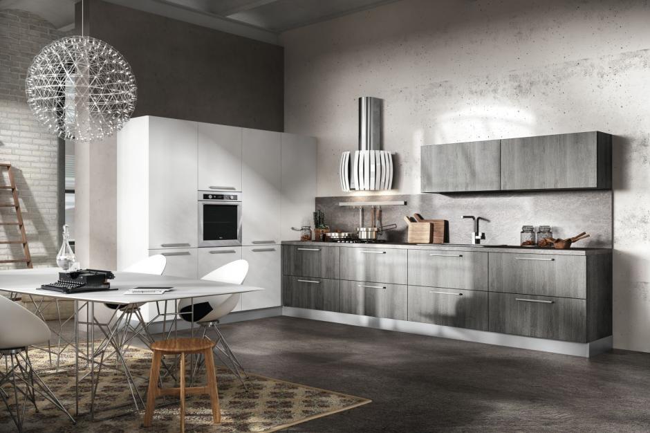 10 stylowych propozycji na meble kuchenne - w szarościach