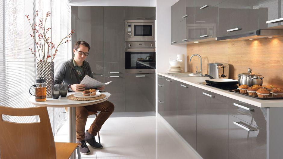 Szare Meble Do Kuchni 10 Inspirujących Pomysłów Meble Kuchenne