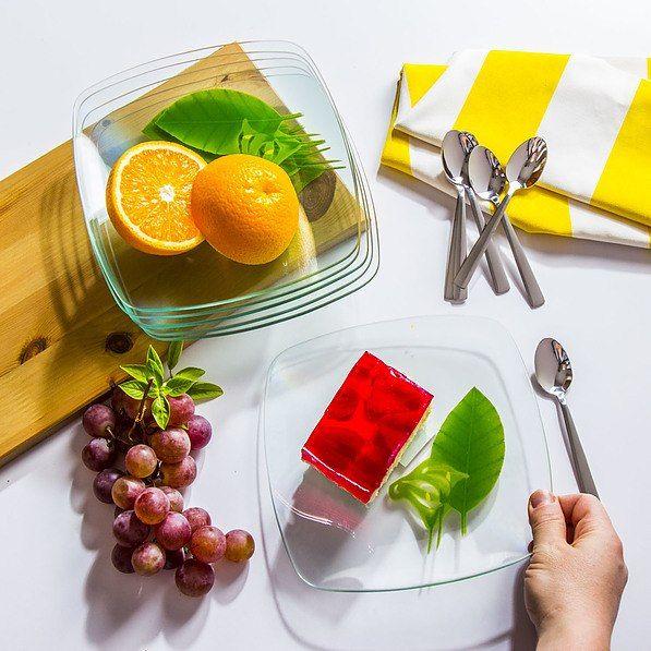 Szklane naczynia kuchenne - do gotowania i serwowania