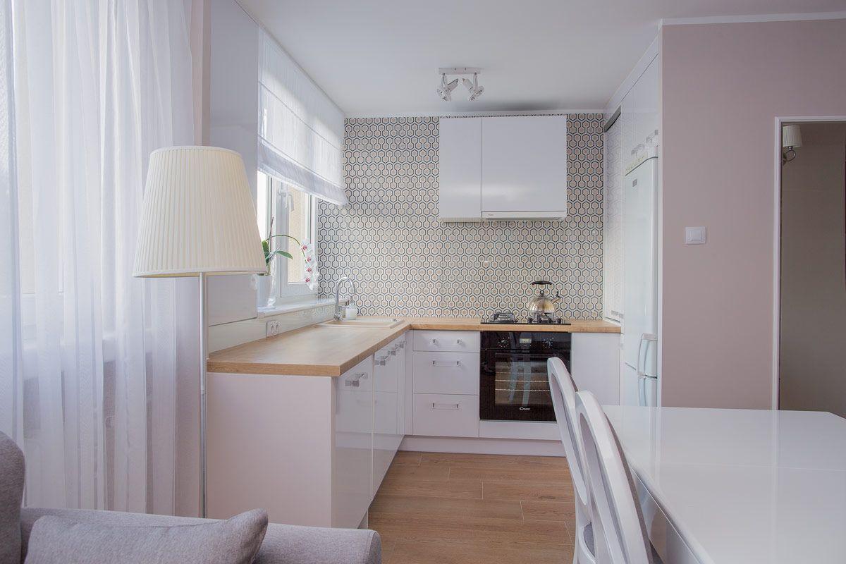 Tapeta w kuchni