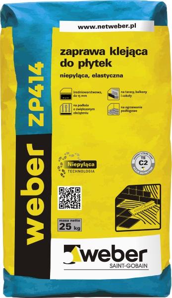 Weber ZP414 zaprawa klejąca do płytek