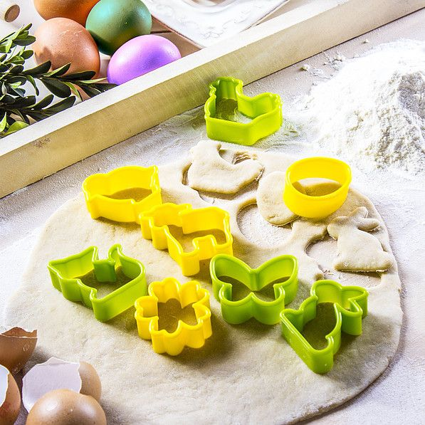 Wielkanocne wykrawaczki ciastek