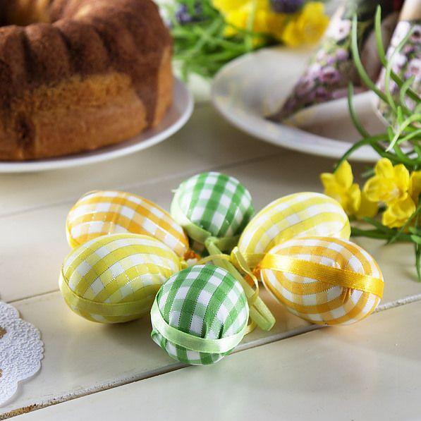 Jajka jako dekoracje na Wielkanoc