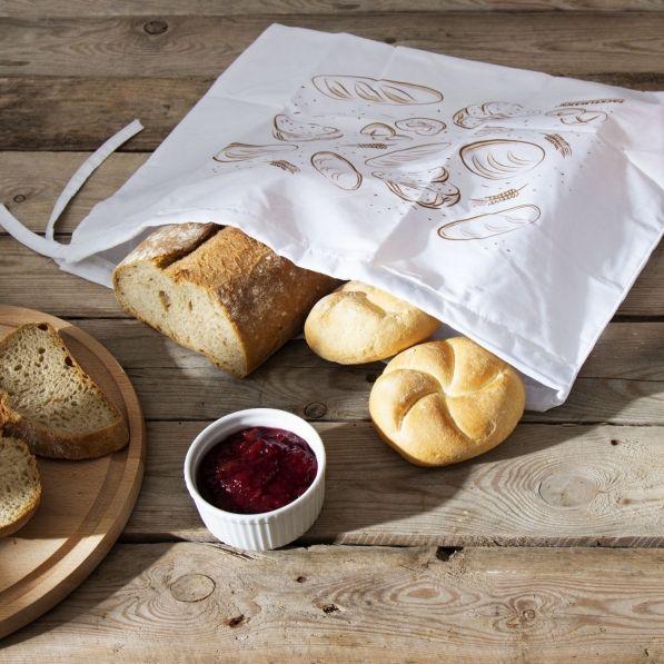Worek na chleb i pieczywo FACKELMANN 43 x 34 cm