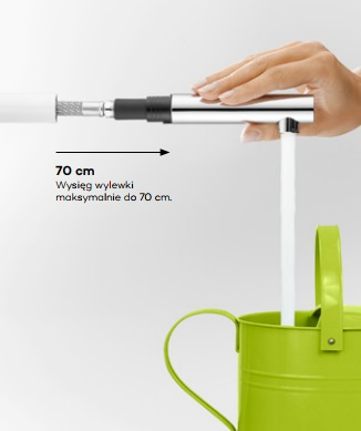 Kludi - bateria kuchenna z wyciąganą wylewką