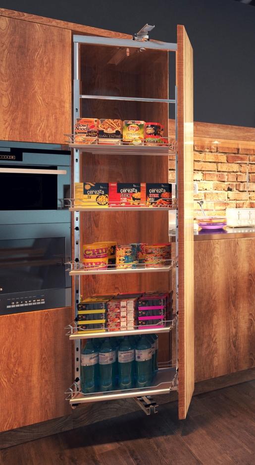 Wysokie szafy kuchenne