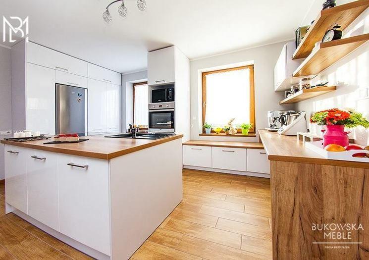 Zabudowa Okna W Kuchni Ciekawe Pomysly Porady Kuchenny Com Pl