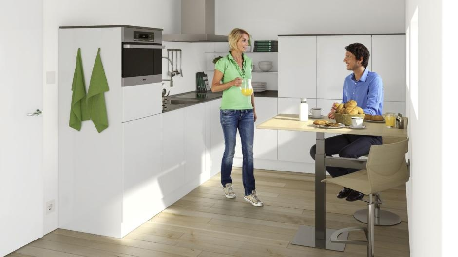 10 sposobów na zabudowę kuchenną - szafki medium