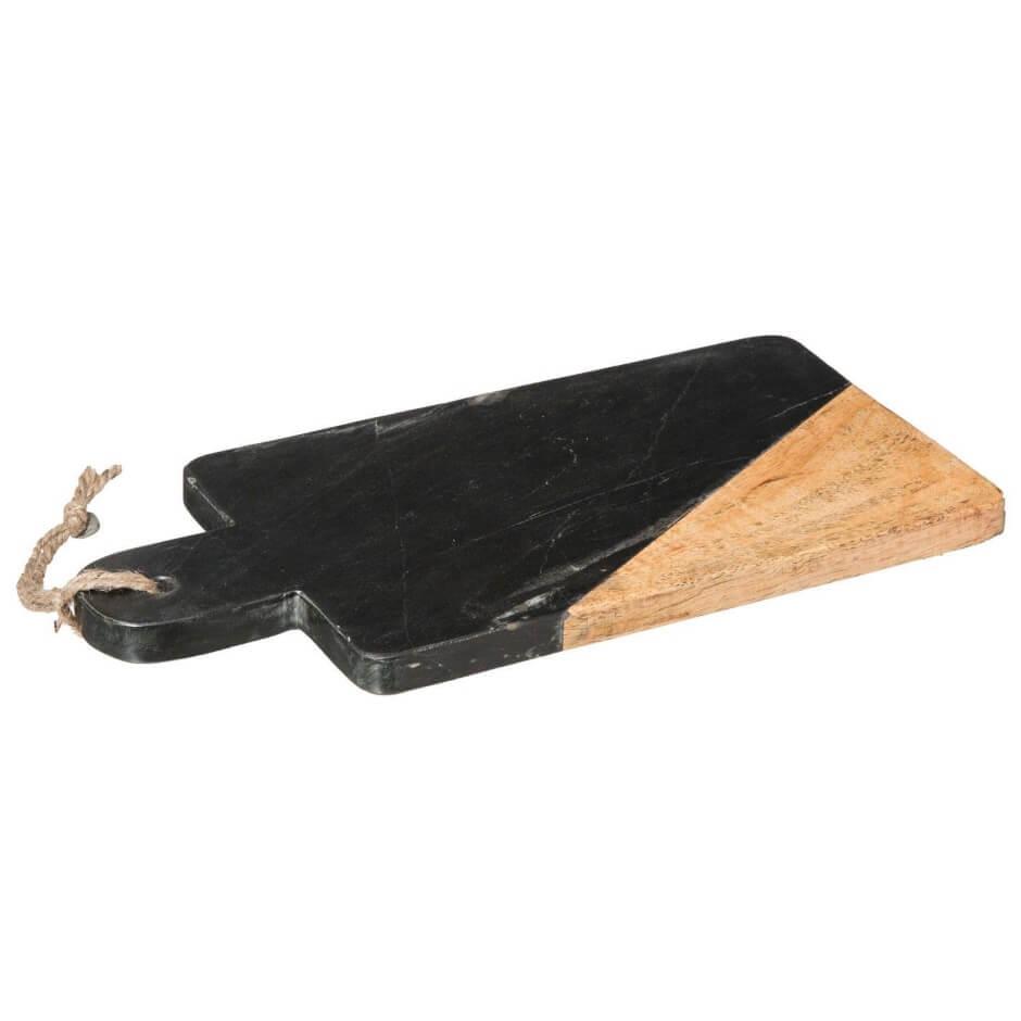 Deska do krojenia marmur czarna
