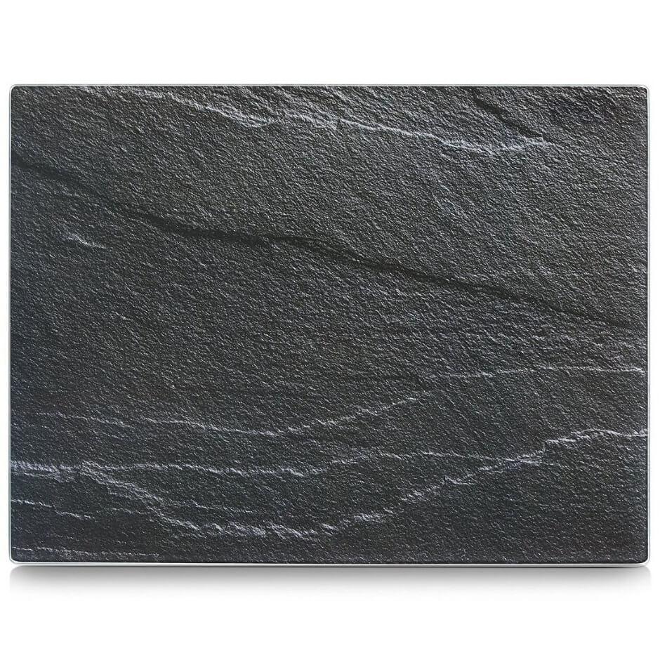 Deska do krojenia ze szkła hartowanego,  ANTHRACITE SLATE ZELLER