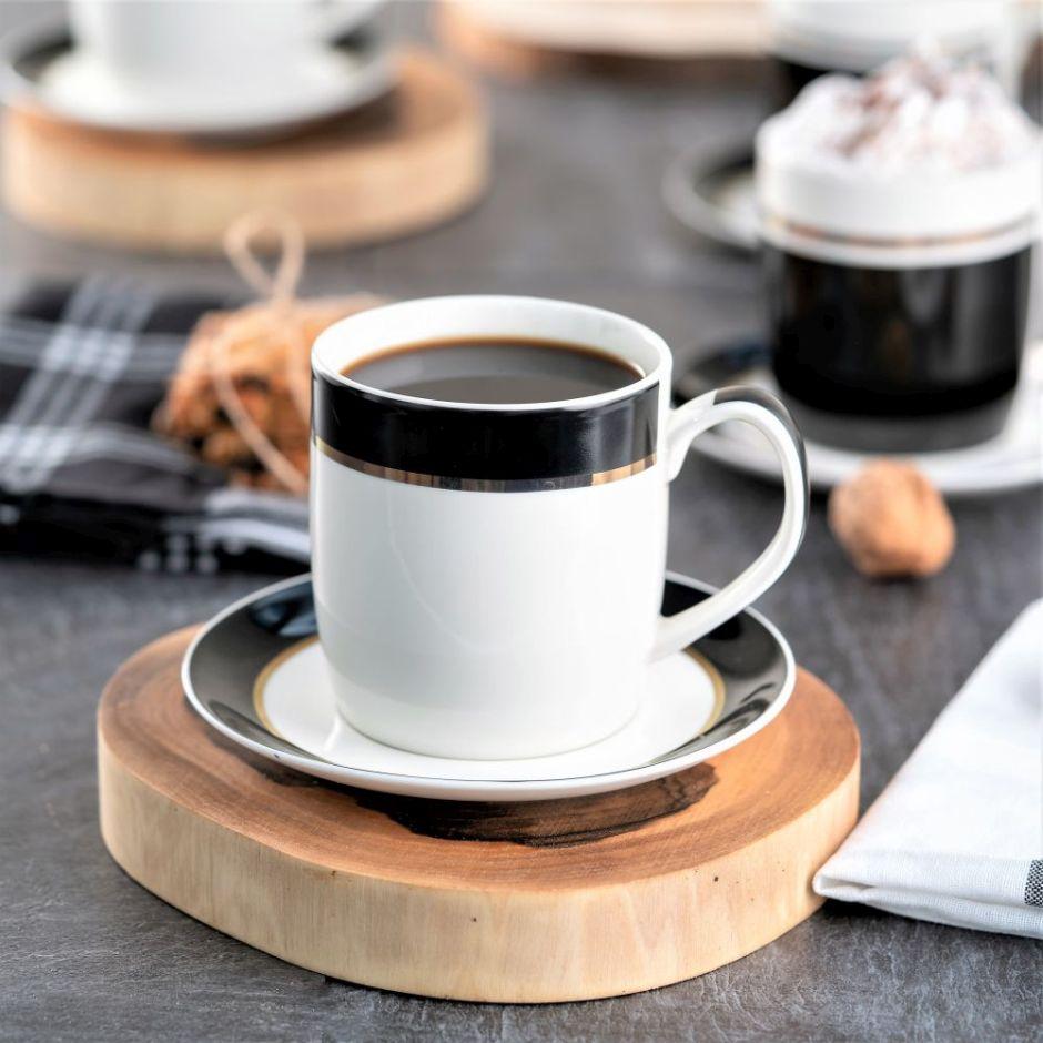 Filiżanka do kawy JULIETTA ze spodkiem