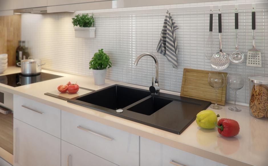 Układy kuchenne - kuchnia jednorzędowa
