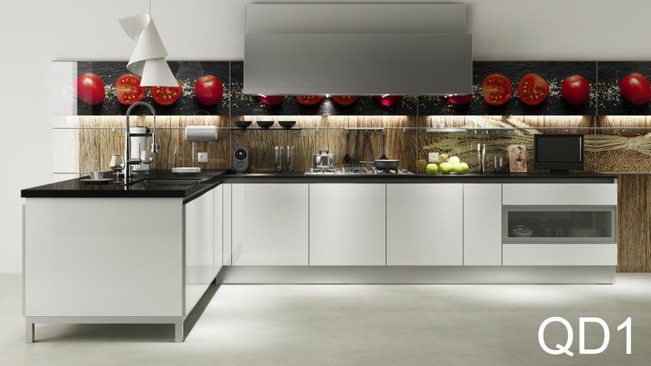 Dodatki w białej kuchni