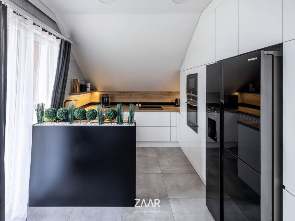 ZAAR - kuchnia na poddaszu