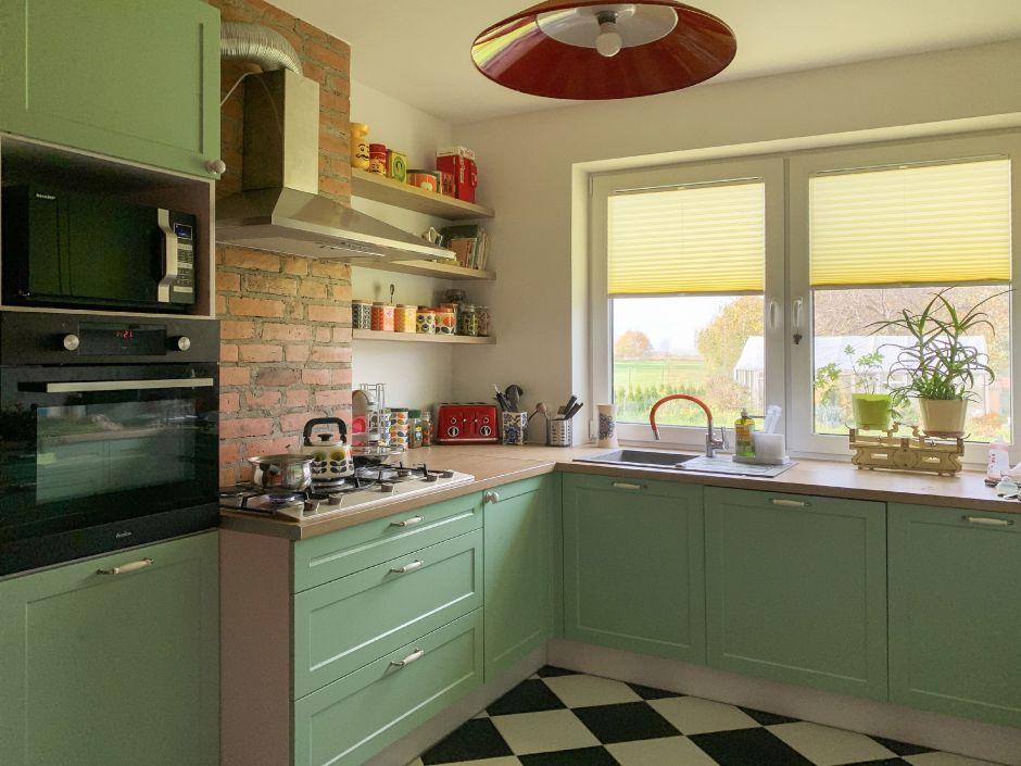 Pastele w kuchni - aranżacja, zdjęcia