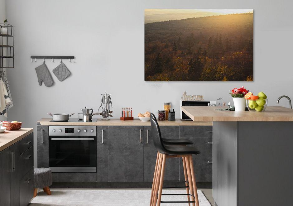 Krajobraz w kuchni i jadalni - wybieramy obrazy z motywem przyrody