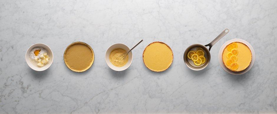 Przepis an tarte cytrynową