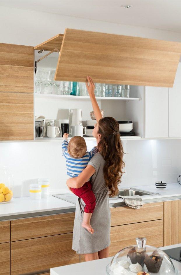 Mechanizamy do szafek wysokich w kuchni